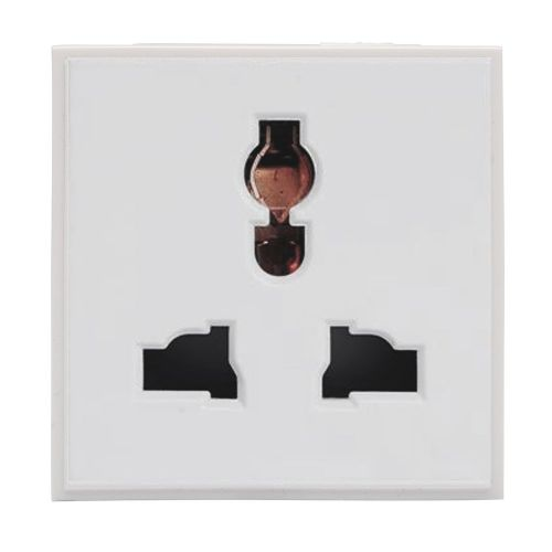 RT 13A Multi Socket (50mmX50mm) White 09048